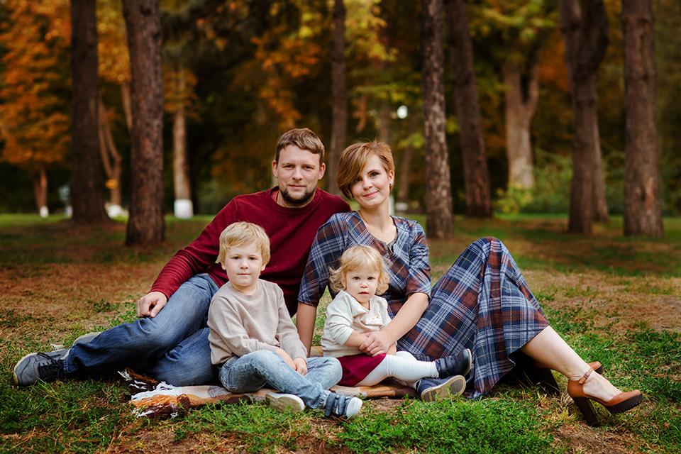 Семейная фотосессия в Ростове-на-Дону