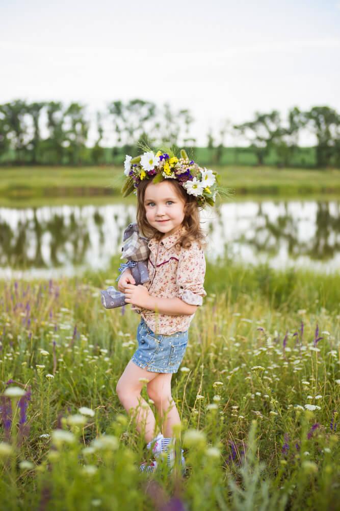 Фотосессия мамы и дочки на природе