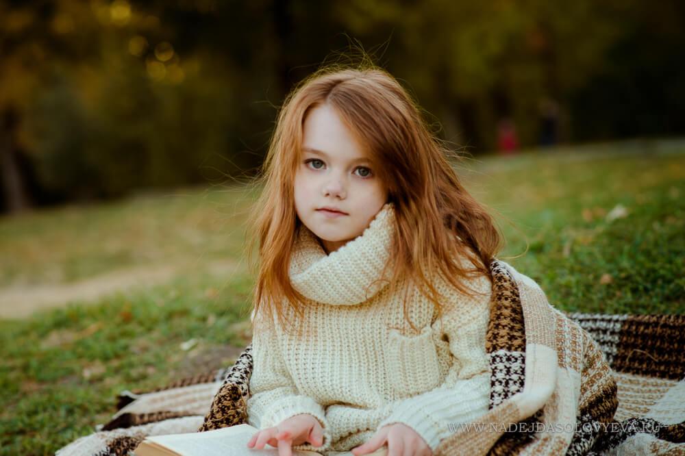 осенняя детская фотосессия