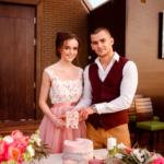 Свадебный торт. Свадебная фотосессия в Grand Hotel Soho Азов