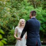 Свадебная фотосессия. Встреча молодожёнов