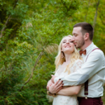 Свадебная фотосессия. Прогулка молодожёнов