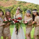 Свадебная фотосессия. Невеста и подружки