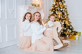 Новогодняя фотосессия в Ростове-на-Дону