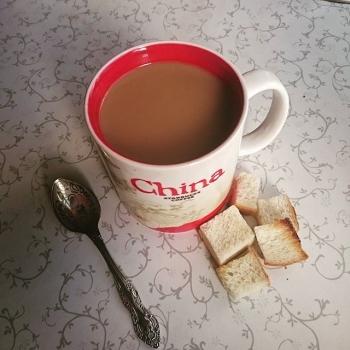 Большая кружка кофе