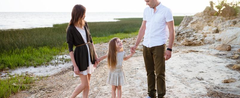 Семейная фотосессия в Мержаново