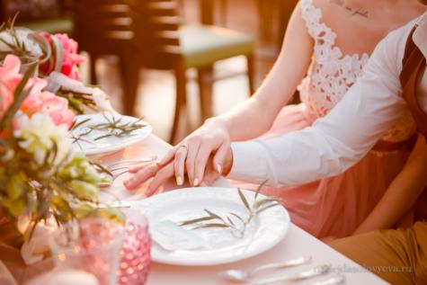 Декор свадебного банкета