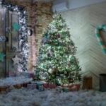 Фотостудия Vintage Новогодние декорации Зал VOYAGE HALL