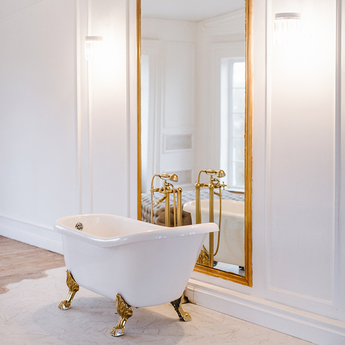 Фотостудия Bloom - Белоснежный зал c ванной АФРОДИТА