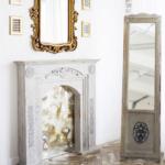 Фотостудия Bloom - Зал с кроватью и камином Гера